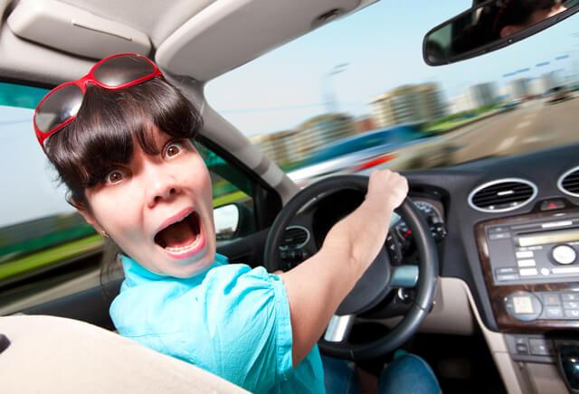 Уроки вождения для женщин